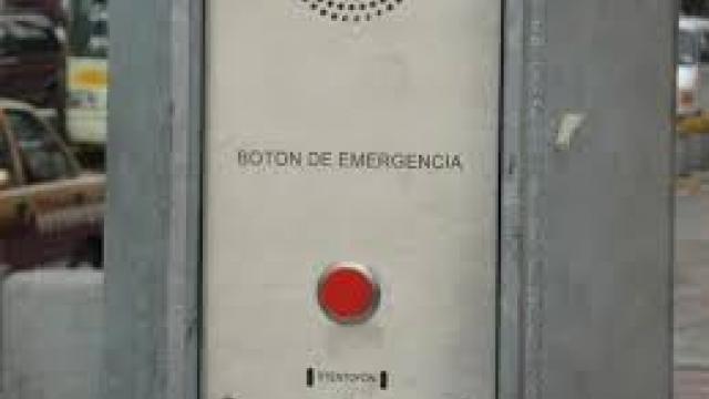 Botón de emergencia