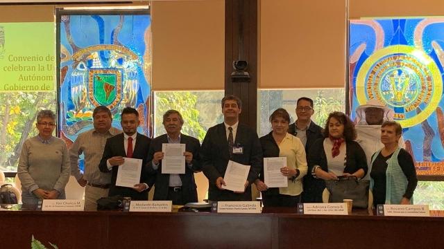 El Herioco Cuerpo de Bomberos CDMX y La Faculta de Medicina Veterinaria y Zootecnia de la UNAM firmaron Convenio.